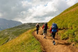 Core mountaineering trail
