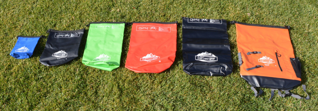 dry bags different sizes
