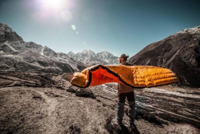 core mountaineering sleeping bag