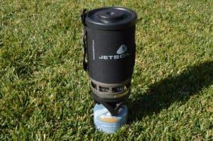 Jetboil camping stove