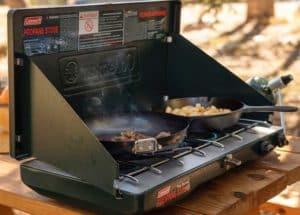 Colemen Dual Burner camping Stove