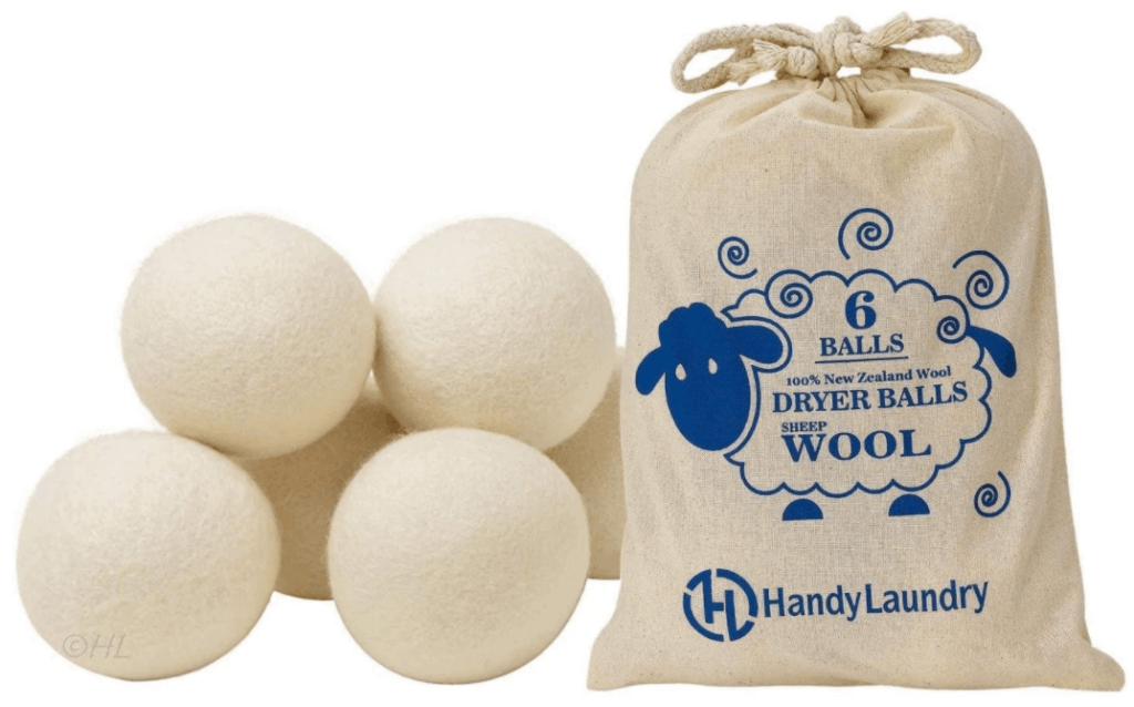 dryer balls for cleaning sleeping bags
