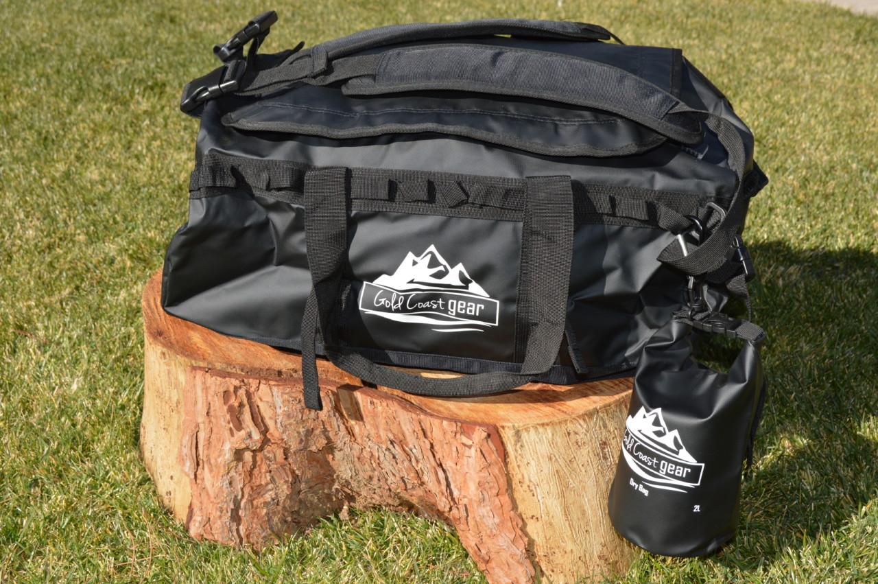 Camping duffel bag
