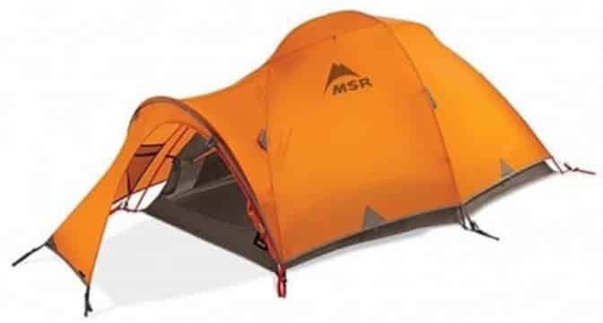 MSR winter four season tent