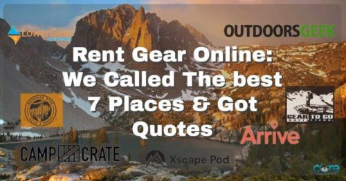 core mountaineering rent camping gear online