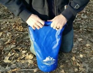 use a dry bag with bear bag