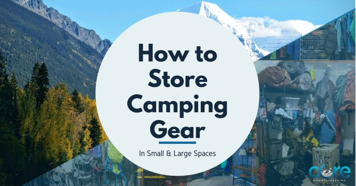 Organize Specific Camping Gear