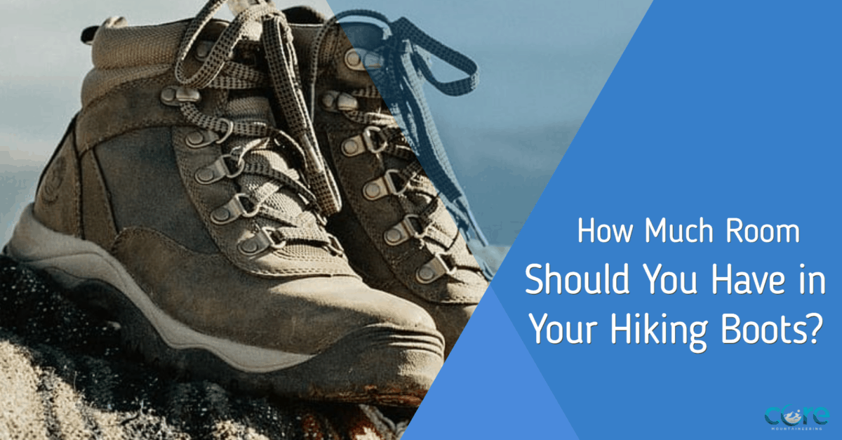 How Much Room Should You Have in Hiking Boots
