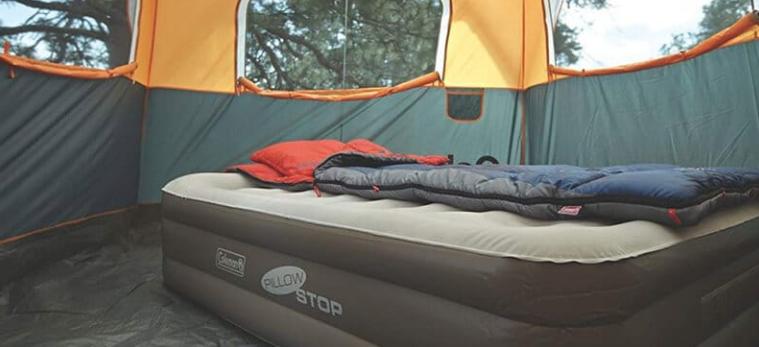 Air mattress for camping & glamping