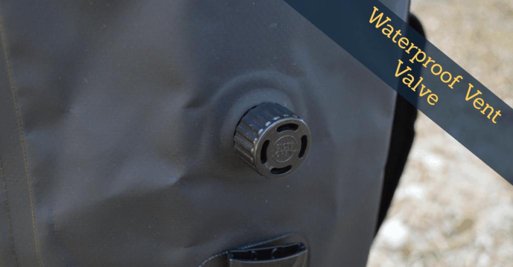 vent valve on best waterproof dry bag