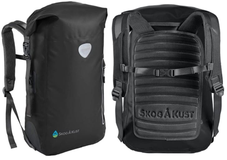 Top waterproof backpack