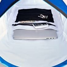 waterproof laptop backpack inside pocket