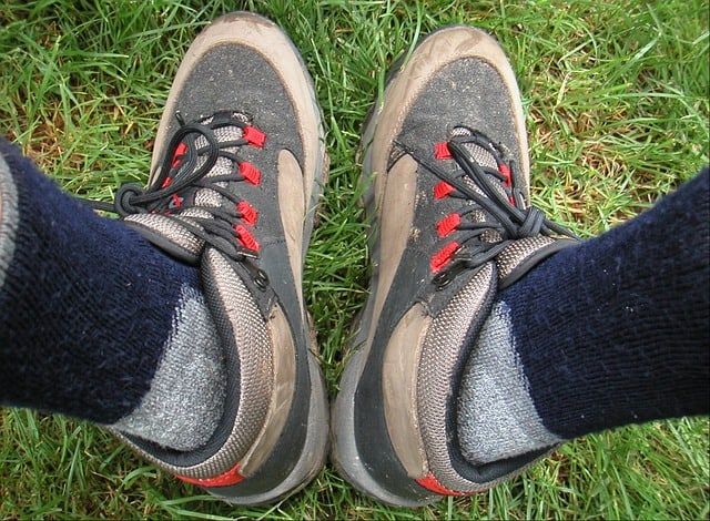 Cotton hiking socks are bad for hiking