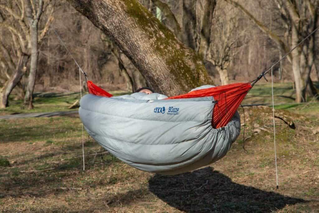 Underquilt for hammocks