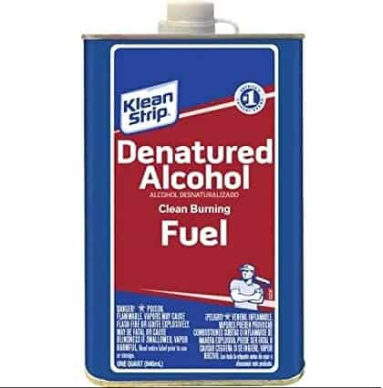 Alcohol Fuel for camping stove